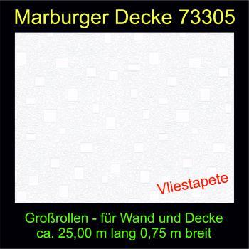 Tapete 73305 Marburger Decke Großrolle 25,00 x 0,75 m - versandkostenfrei