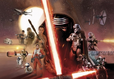 Fototapete 8-492 Star Wars EP7 Collage - 368 x 254 cm