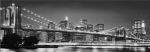 Fototapete 4-320 Brooklyn Bridge - 368 cm x 127 cm